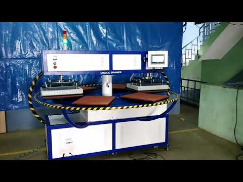 1620 Spinner Six Bed Fusing Machine