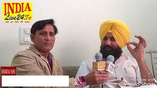 Interview Simarnjeet singh bains election in nagar nigam ludhiana