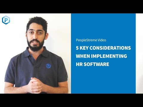 5 Key Considerations when implementing a HRIS - YouTube