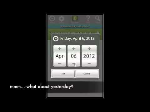 Video of TV Calendar