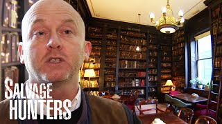 Exploring A Private Library For Rare Items | Salvage Hunters