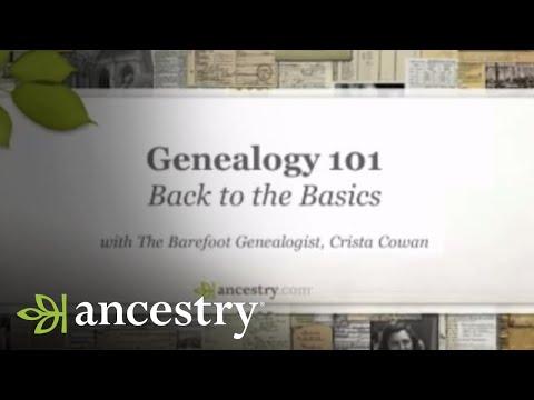 Back to the Basics: Genealogy 101 | Ancestry