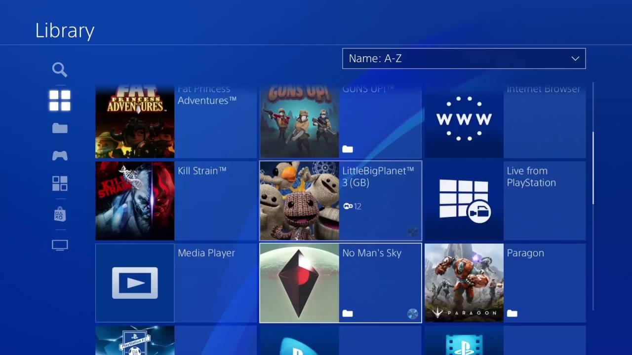 Mañana llega la actualización del software del sistema de PS4 4.0