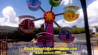 Exlion amusement park rides ferris wheel