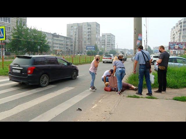 В Ангарске автоледи сбила двух пешеходов