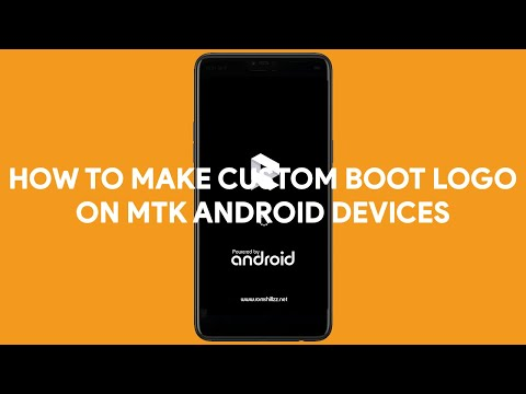 How To Make Custom Boot Logo on MTK Android Devices - [romshillzz]