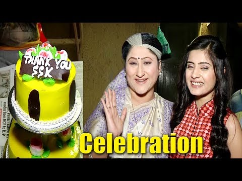 Vaishali Thakur Last day Shoot Cake Cutting Celebration On Sasural Simar Ka Set