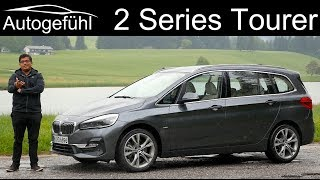 BMW 2-Series Gran Tourer FULL REVIEW 2 Series MPV 2er Facelift 2019 - Autogefühl