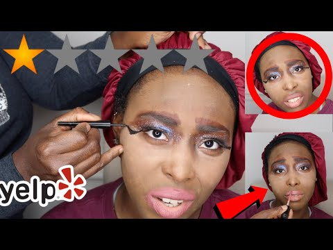 I WENT TO THE WORST REVIEWED MAKEUP ARTIST IN AMERICA !!!