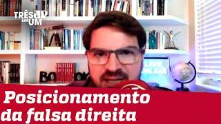 Rodrigo Constantino: Tratado como genocida, Bolsonaro é alvo de campanha difamatória