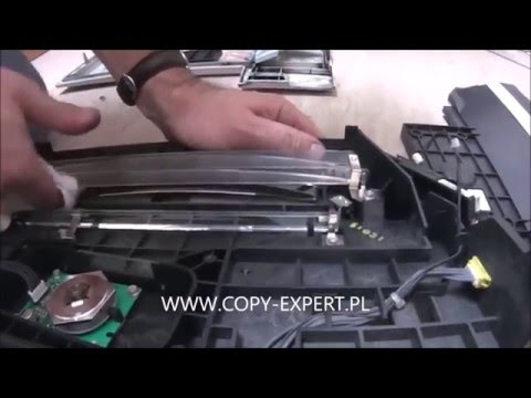 LASER UNIT Replacement RICOH AFICIO MP3500 MP4500 error