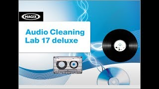 MAGIX Video Sound Cleaning Lab – видео обзор