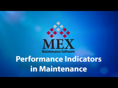 Performance Indicators In Maintenance