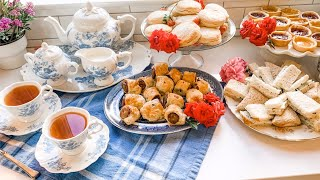 Afternoon Tea Vlog | Spring | Daily Connoisseur