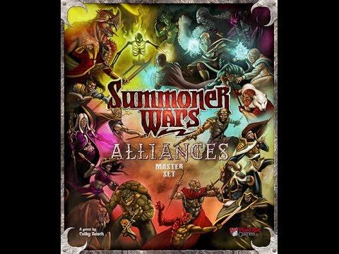 Board Game Brawl Reviews - Summoner Wars: Alliances Master Set