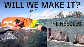Kitesurfing 150km around the Isle Of Wight