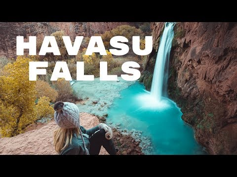 HIKING TO HAVASU FALLS + THE HAVASUPAI TRAIL | Exploring Havasupai Vlog  - Part 1