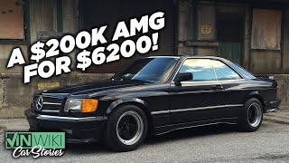 I found an ABANDONED super-rare AMG Widebody!
