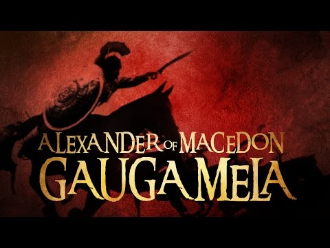 ALEXANDER of Macedon. The Battle of Gaugamela
