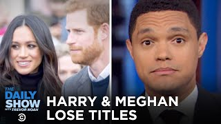 Meghan and Harry hand in their royal titles, Harvey Weinstein is convicted of rape and a criminal sexual act, and the coronavirus reaches Italy. #TheDailyShow  Subscribe to The Daily Show: https://www.youtube.com/channel/UCwWhs_6x42TyRM4Wstoq8HA/?sub_confirmation=1   Follow The Daily Show: Twitter: https://twitter.com/TheDailyShow Facebook: https://www.facebook.com/thedailyshow Instagram: https://www.instagram.com/thedailyshow  Watch full episodes of The Daily Show for free: http://www.cc.com/shows/the-daily-show-with-trevor-noah/full-episodes  Follow Comedy Central: Twitter: https://twitter.com/ComedyCentral Facebook: https://www.facebook.com/ComedyCentral Instagram: https://www.instagram.com/comedycentral  About The Daily Show: Trevor Noah and The World's Fakest News Team tackle the biggest stories in news, politics and pop culture.  The Daily Show with Trevor Noah airs weeknights at 11/10c on Comedy Central.