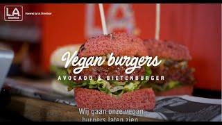 Beetroot Butcher Burger, 100% vegan