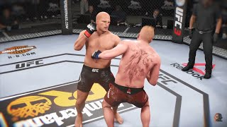 Fedor Emelianenko Vs Brock Lesnar | EA Sports UFC 3