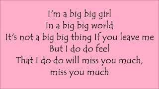 Big big world lyrics by Emilia