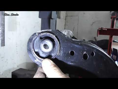 Замена сайлентблоков переднего рычага Skoda Octavia