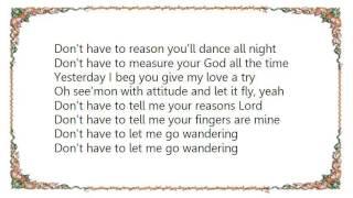 Brad - My Fingers Lyrics