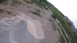 Test fly fpv drone emax hawk pro with gopro session 4