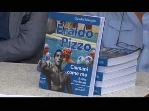 """ERALDO PIZZO, EX CAMPIONE DI PALLANUOTO, PRESENTA IL LIBRO """"CAIMANI COME ME – IL MITO DELLA PRO RECCO"""""""