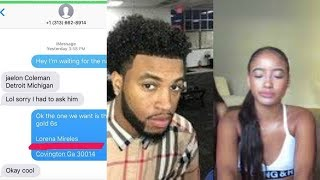 CHRIS HAS BEEN THREATENING THE GIRLS HE CHEATED ON QUEEN WITH (MORE GIRLS WITH PROVES)