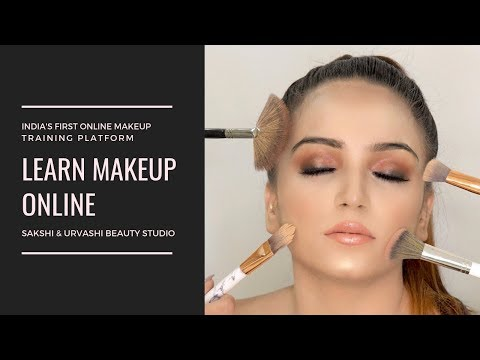 Introducing India's First Online Makeup Training Platform - YouTube