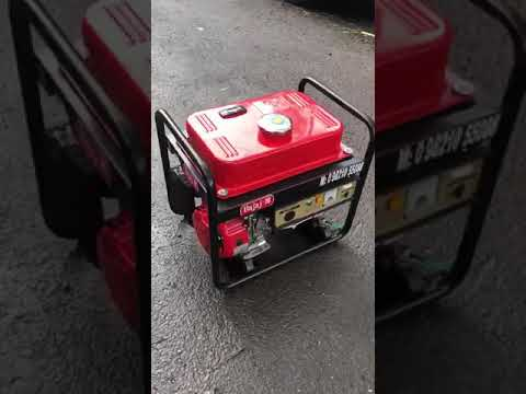 2.5kw Noise Version Self Strat Petrol Portable Genset.
