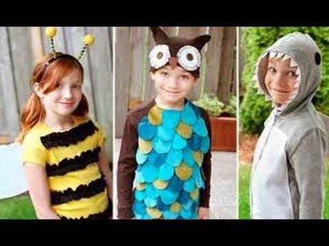 Disfraces infantiles hechos en casa 1