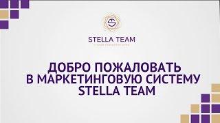 Приветственное видео Stella Team