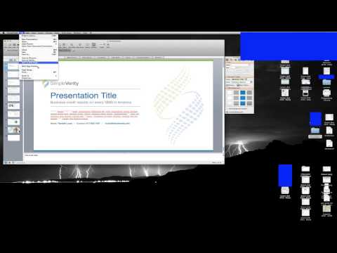 PowerPoint for Mac: Create PDF with no margin / border