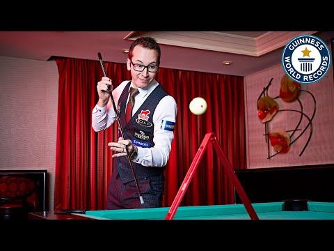 Unbelievable Pool Trick Shots with Florian 'Venom' Kohler