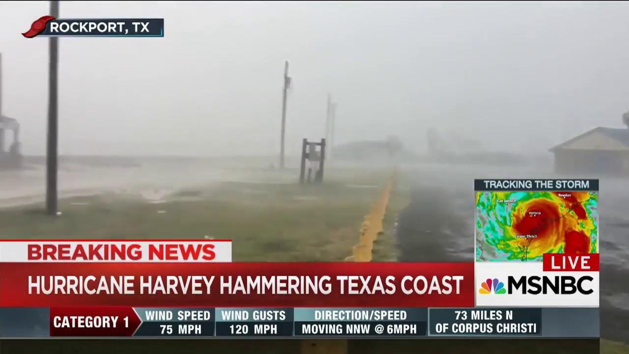 Rockport, TX Mayor: 'Widespread Devastation' In the Wake of Harvey | MSNBC thumbnail