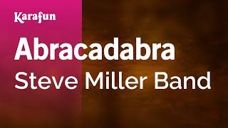 Gambar cover Karaoke Abracadabra - Steve Miller Band *
