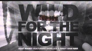 Asap Rocky ft. Skrillex - Wild For The Night (Explicit)