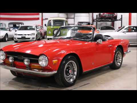 Video of '72 TR6 - QSDU