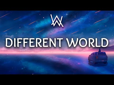 Alan Walker ‒ Different World (Lyrics) Ft. Sofia Carson, K-391, CORSAK