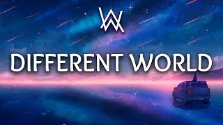 Alan Walker ‒ Different World (Lyrics) Ft. Sofia Carson, K 391, CORSAK