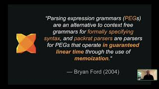Justin Donaldson - Parsing Expression Grammars in Haxe