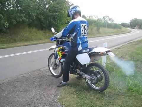 Yamaha DT 125 RE GIANNELLI Sound, 0-100 and top speed