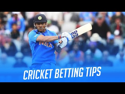 Cricket betting tips. How to crack match bets.