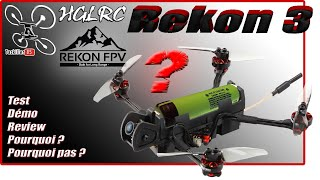 REKON 3 HGLRC/REKONFPV Nano Long Range - Review Test Démo - A vous de voir ...
