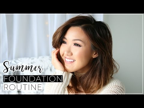 Summer Glowy Foundation Routine | ilikeweylie