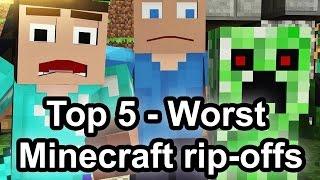 Top 5 - Worst Minecraft rip-offs